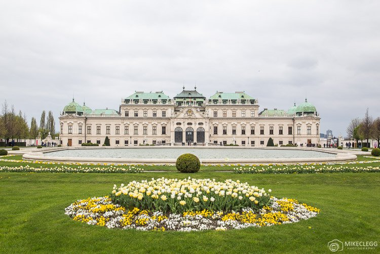 Belvedere, Vienna in the spring