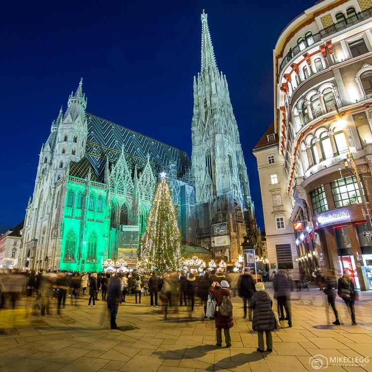 Stephansdom, Vienna at night