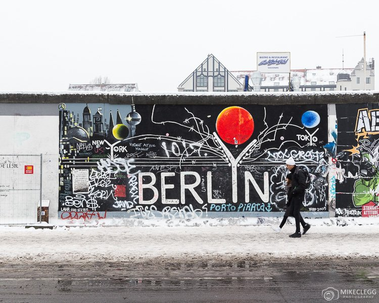 Part of the Berlin Wall at East Side Gallery