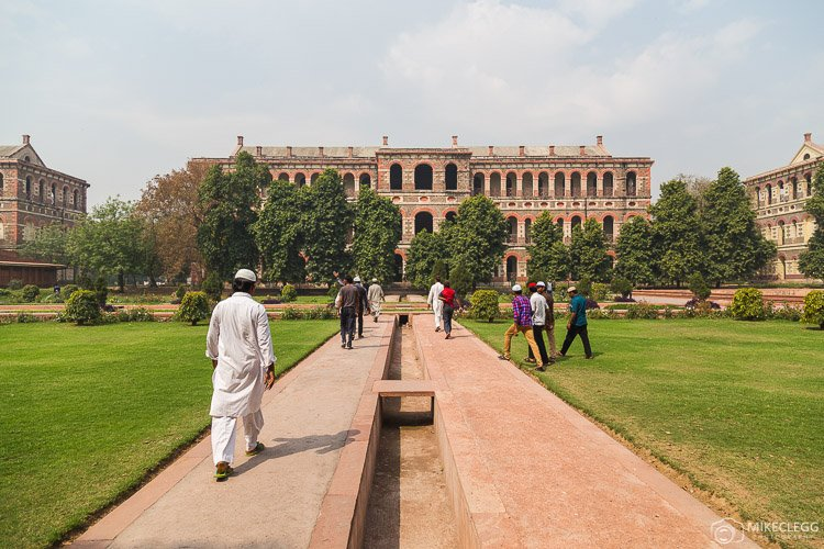 Exploring the Red Fort in Delhi