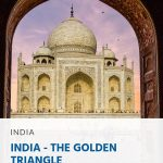 Pinterest - India - The Golden Triangle