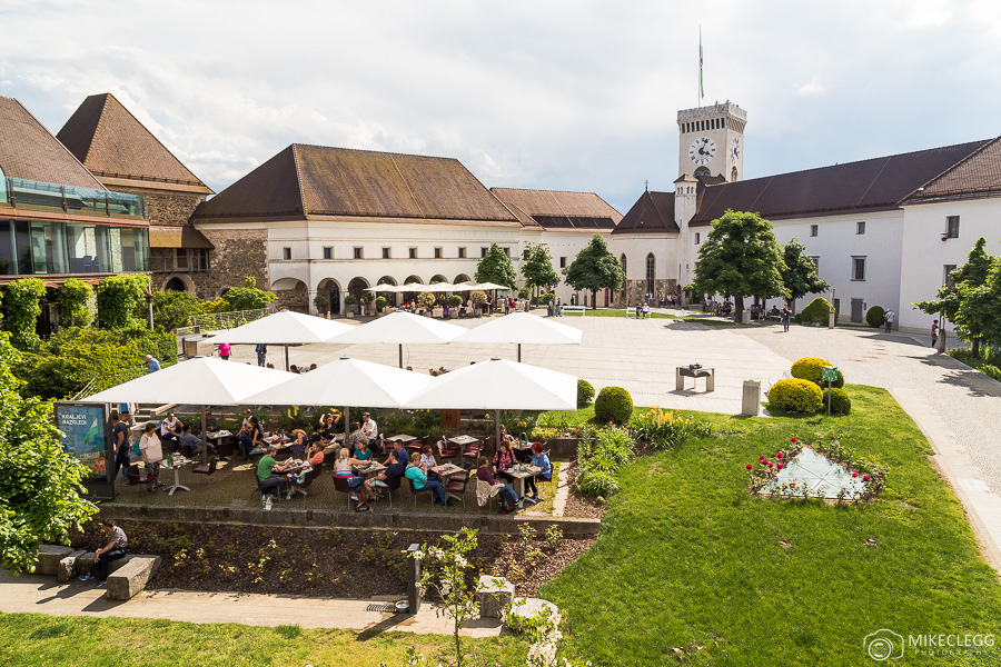 Restaurants at Ljubljana castle