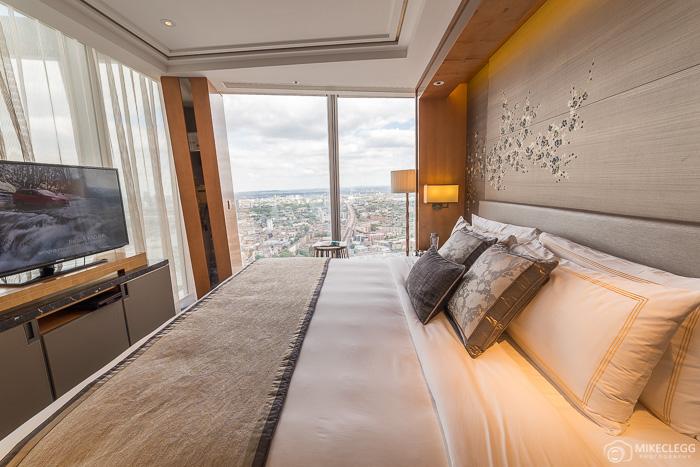 Bedroom in the Premier Shard Suite