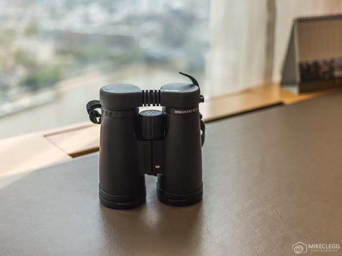 Binoculars to explore the city, Shangri-La