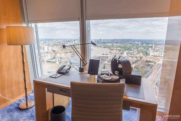 Desks in the Shangri-La, Shard