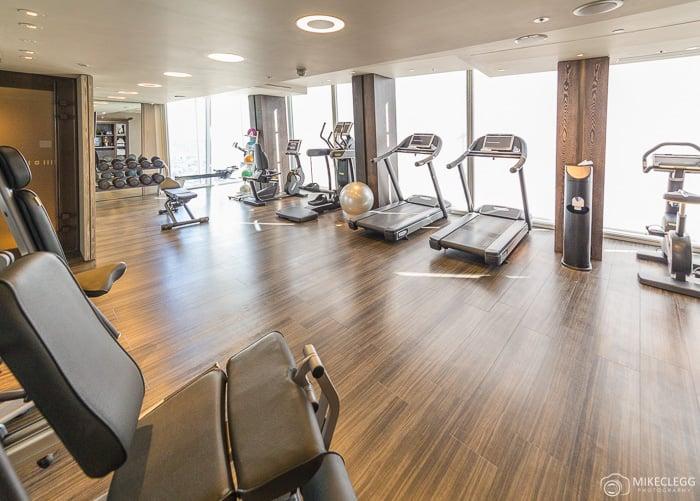 Gym at the Shangri-La At The Shard