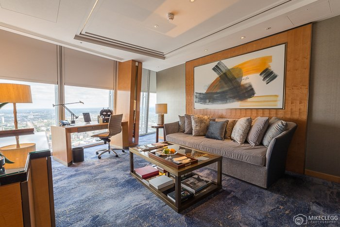 Living Room in the Premier Shard Suite