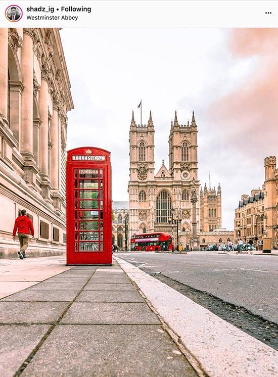 London Instagram photographers - @Shadz_ig