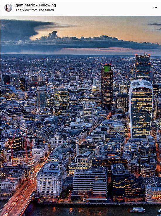 London Instagram photographers - @geminatrix