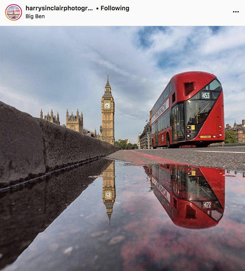 London Instagram photographers - @harrysinclairphotography