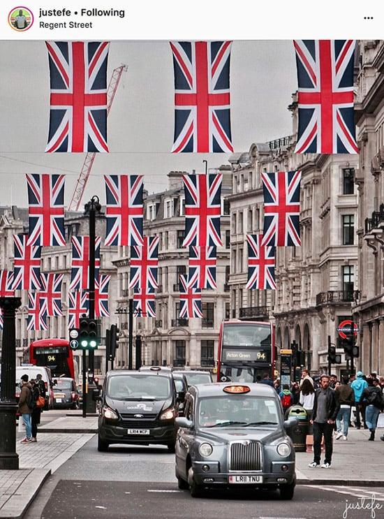 London Instagram photographers - @justefe
