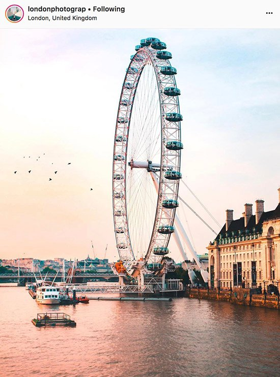 London Instagram photographers - @londonphotograp