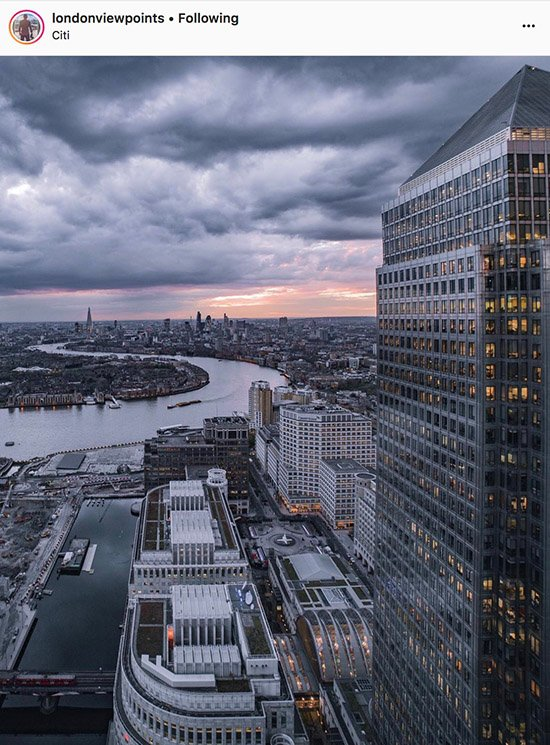 London Instagram photographers - @londonviewpoints