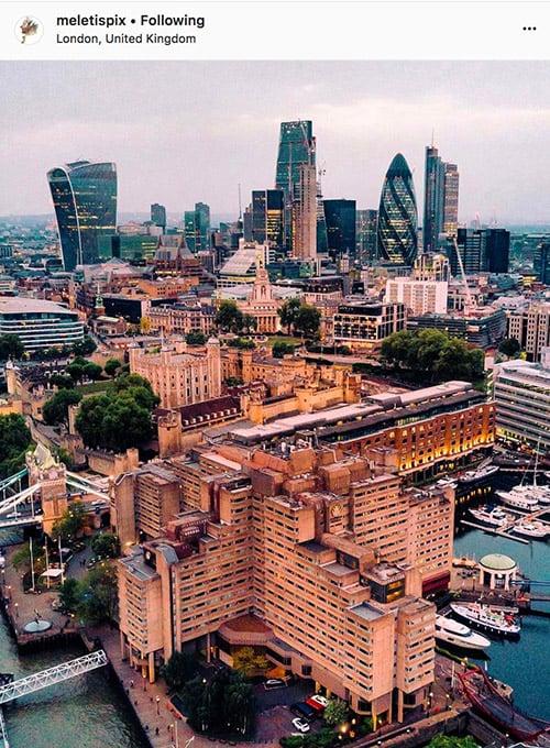 London Instagram photographers - @meletispix
