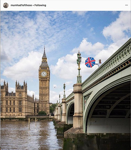 London Instagram photographers - @mumhad1ofthose
