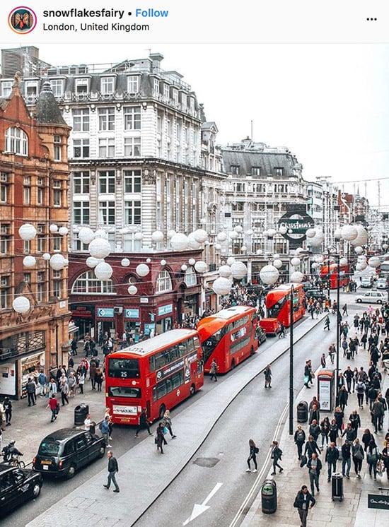 London Instagram photographers - @snowflakesfairy