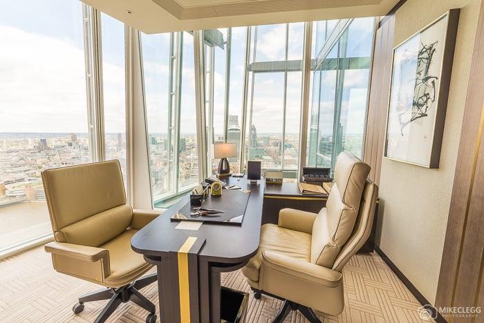 Office in the Shangri-La Suite, Shard
