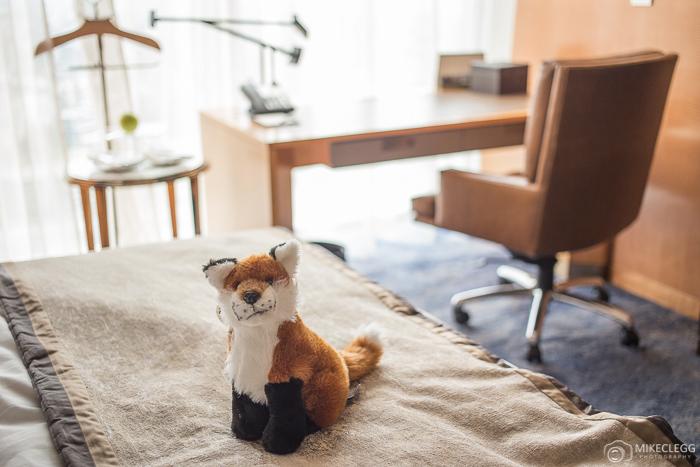 Shangri-La Fox Teddy Mascot