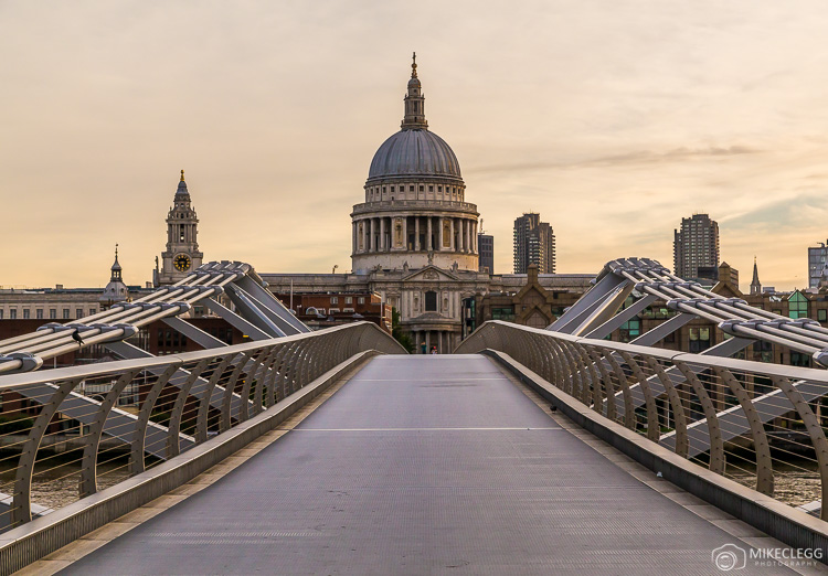 St Paul's Cathedral at Sunrise