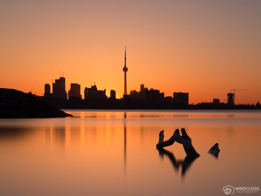Toronto Skyline at Sunrise