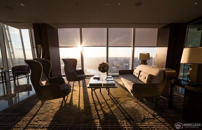Upper lobby, Shangri-La At The Shard