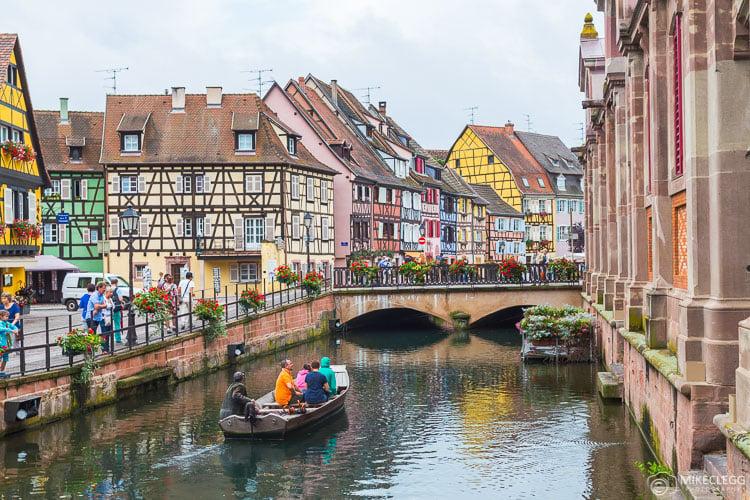 Boat tours in Colmar