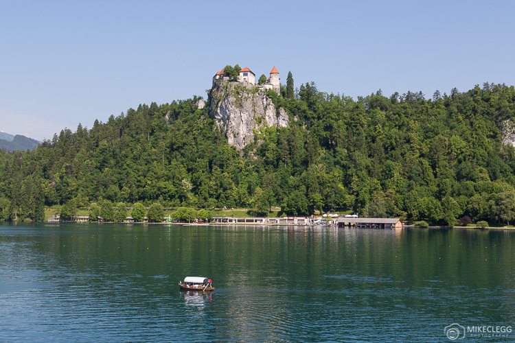 Boats and Bled Castle