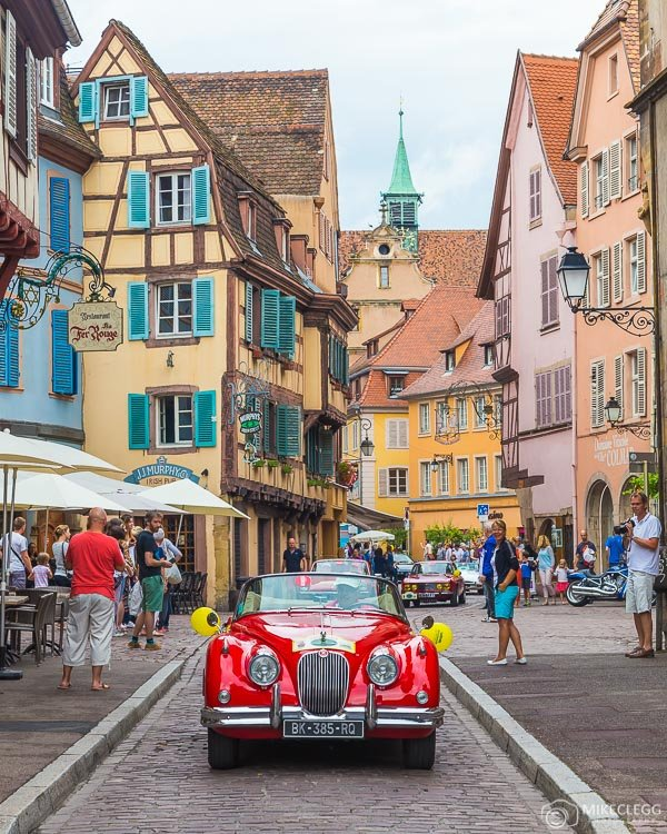 Cars at Tour Alsace 2016