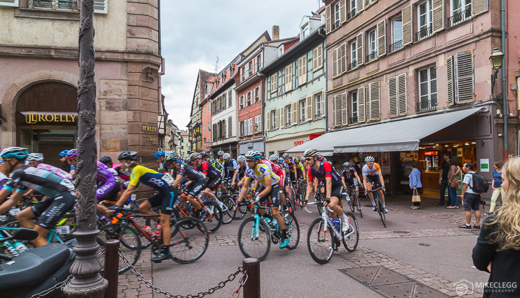 Cyclists at Tour Alsace 2016