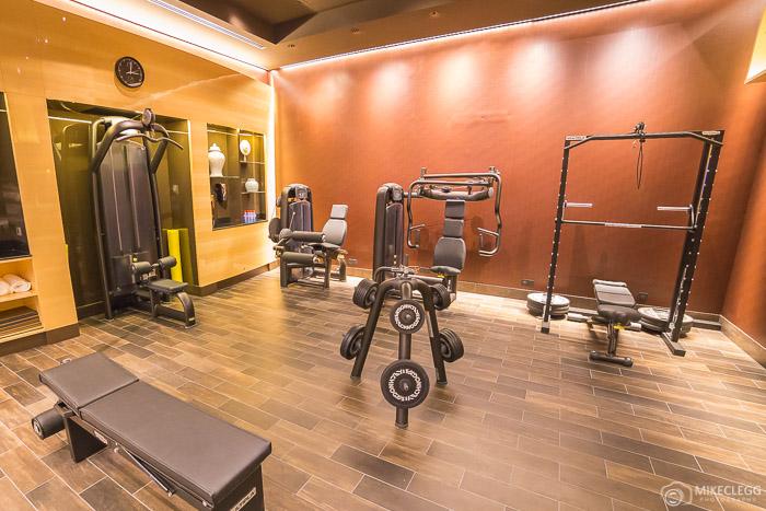 Gym at Prince de Galles