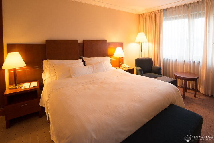 Heavenly Bed at the Westin Zagreb
