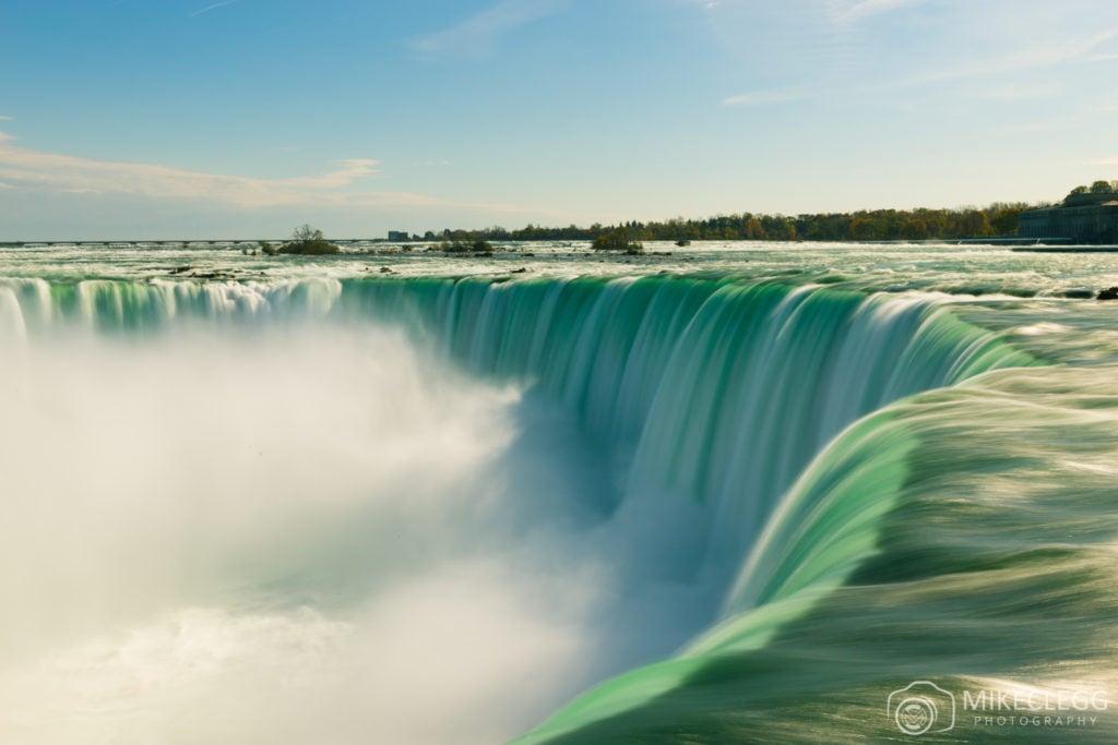 Niagara Falls taken with a long exposure