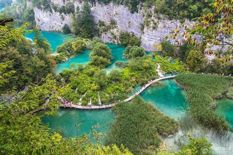 Lower Lakes at Plitvice Lakes, Croatia