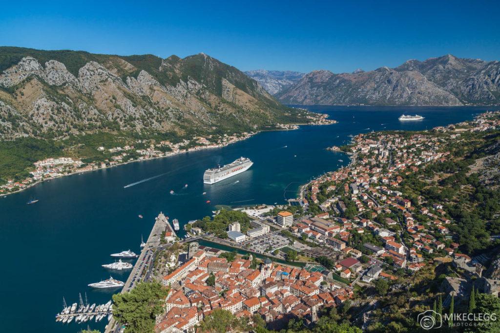 Kotor, Montenegro in the Summer