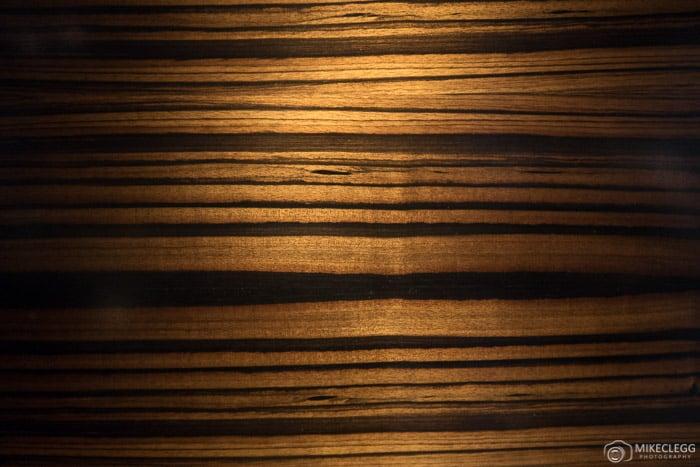 Makassar ebony wood furnishings, Prince de Galles