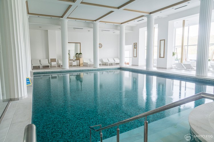 Pool at Grand Hotel Toplice