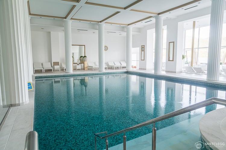 Pool at Grand Hotel Toplice