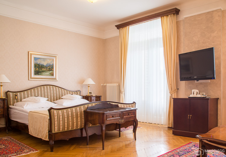 Rooms at Grand Hotel Toplice