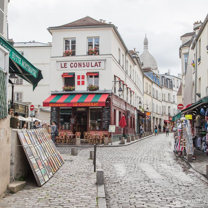 Streets of Montmartre, Paris