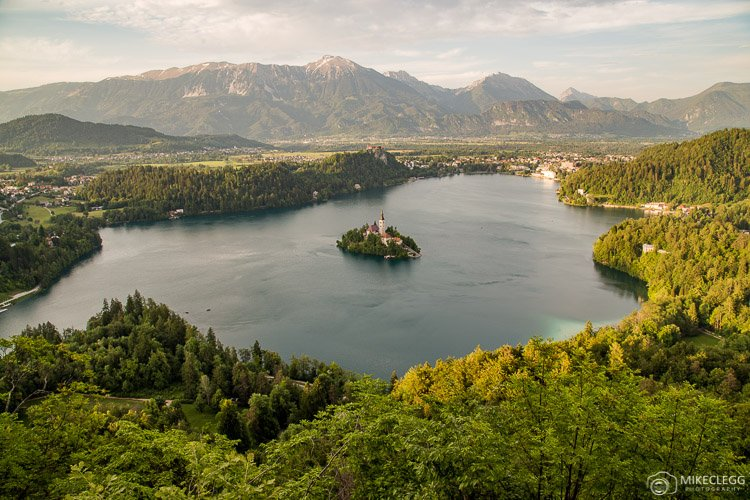 Views of Bled Lake