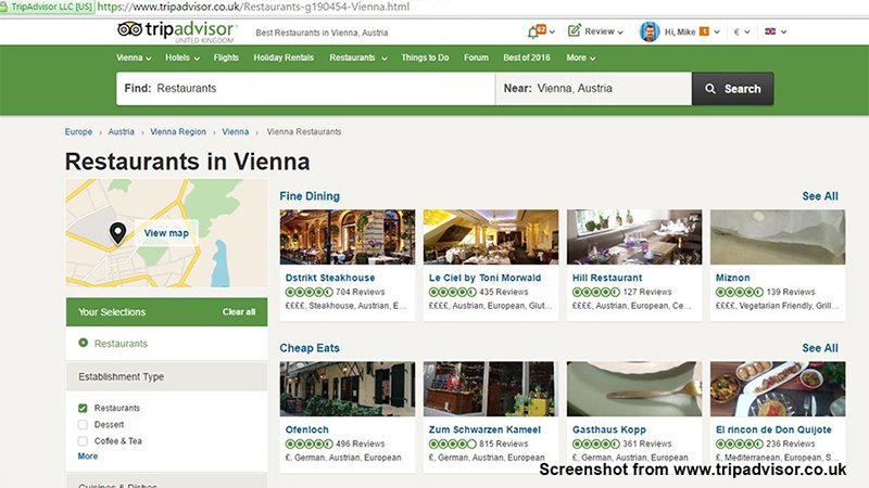 Tripadvisor.co.uk Screenshot