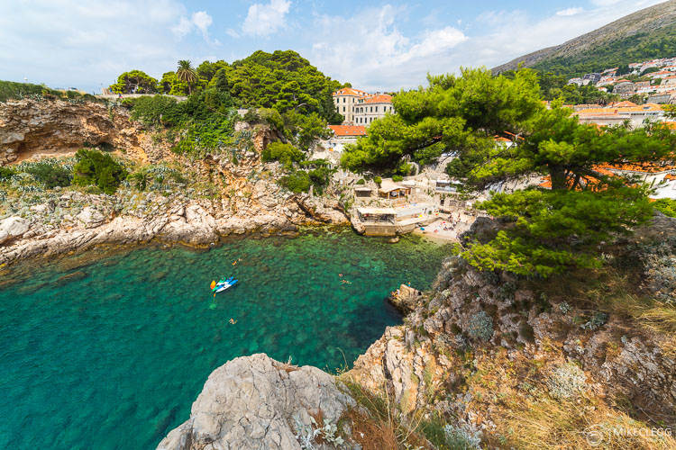 Beaches and coves in Dubrovnik