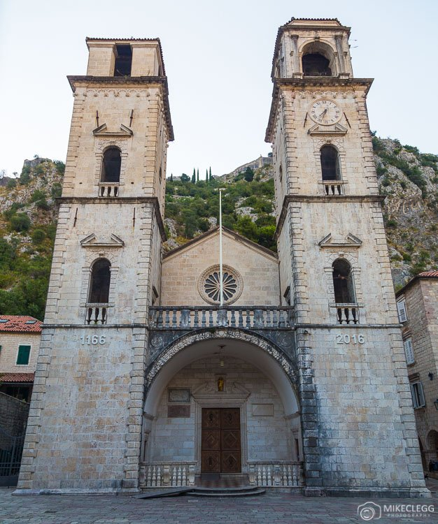 Cathedral in Old Town Kotor
