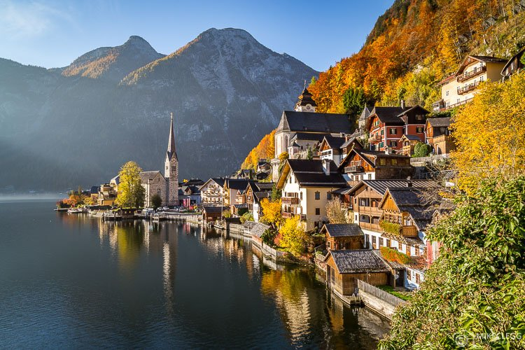 Hallstatt in the Autumn, Austria