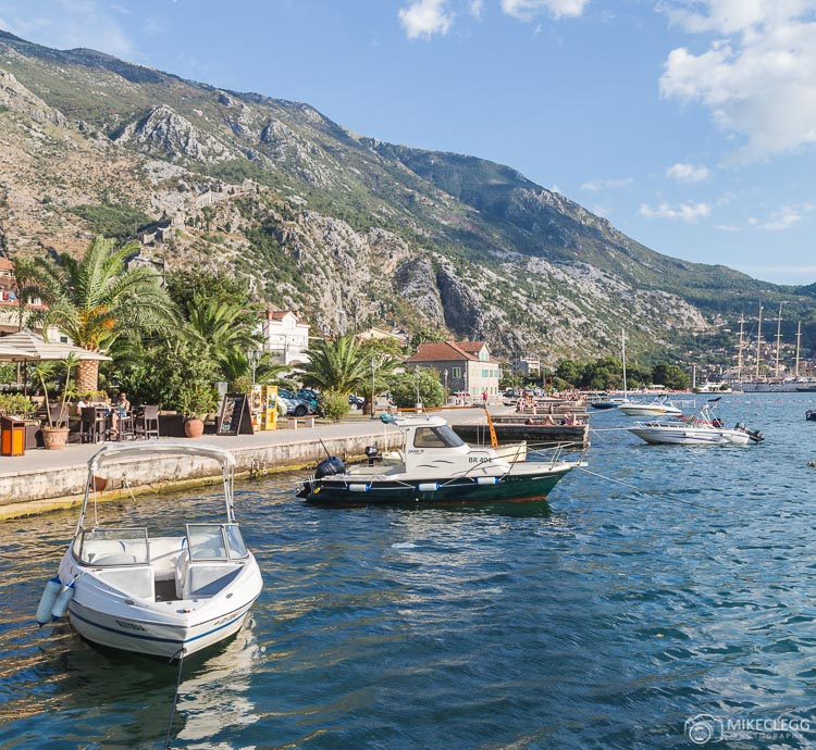 Kotor waterfront