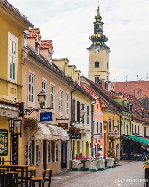 Tkalčićeva ulica in Zagreb