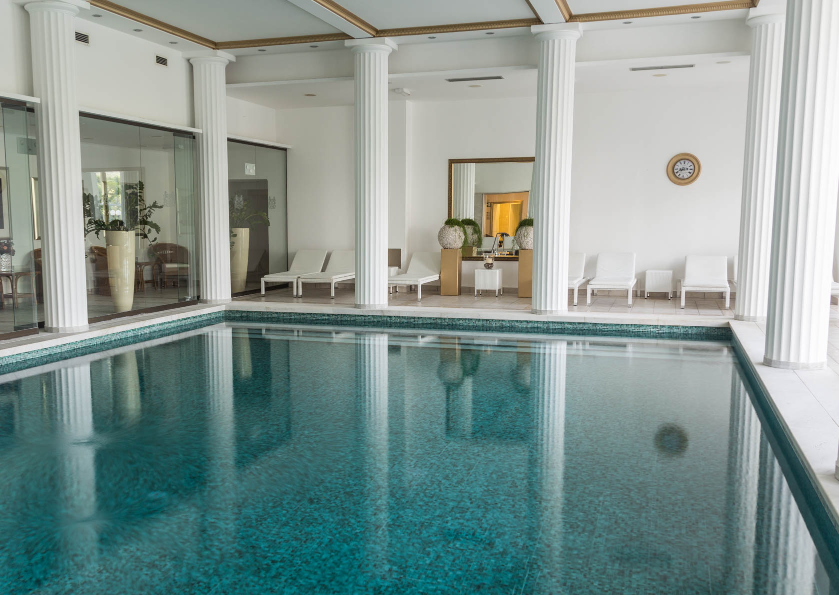 Pool at Grand Hotel Toplice, Bled