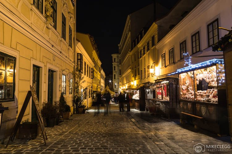 Spittelberg in Vienna at Christmas