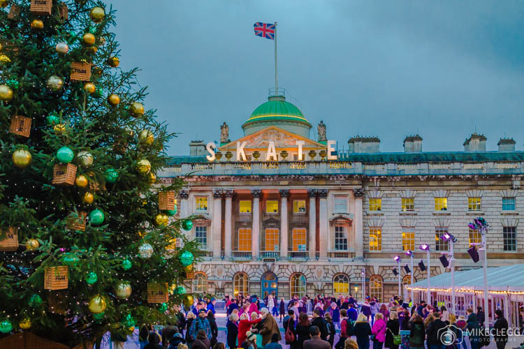 Somerset house london at christmas