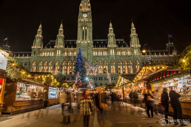 Vienna Christmas Market at Rathausplatz